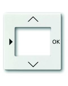 BJ 6435-84 Central Switch for Busch Timer Control Panel UP Studio White