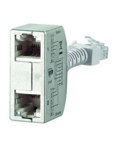 BTR 130548-02-E Cable sharing Adapter Ethernet/Telephone