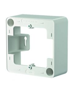 BTR 130829-02-I Surface-Mounted Frame 85 x 85 mm Pure White RAL9010