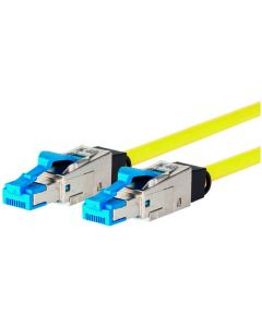 BTR 13084H5077-E Patch Cable RJ45 Cat 8.1 AWG26 Yellow 5 m