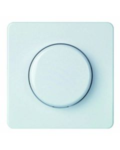 Elso ELG227014 ZP with Knob for Dimmer Fashion/Riva/Scala Pure White