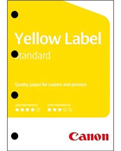 Canon Yellow Label Standard 80gr 4-Gts A4 297 x 210 mm wit PEFC ds/2500vel
